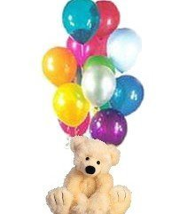 Uçan Balonlar ve Ayıcık