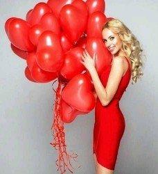 23 Ad. Kalp Uçan Balon